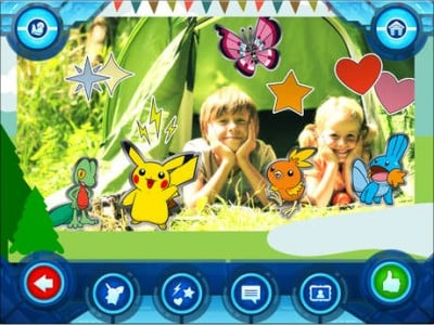 Camp Pokemon, the second game to feature the cartoon characters, has arrived on the App Store