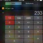 Apple will once again allow calculator widgets in the iOS 8 Notification Center