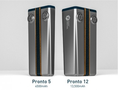 Charge your iPhone or iPad on the go with the powerful Pronto external battery pack