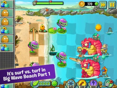 Big Plants vs. Zombies 2 update ushers in 16 new beach levels and much more