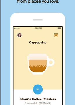 The Square Order app can now predict when you'll arrive to pickup a morning cup of coffee