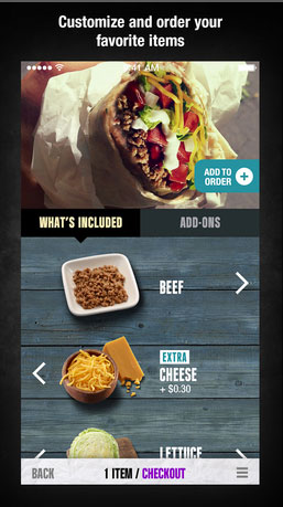 You can now use the Taco Bell iPhone app to quickly order and pay for munchies