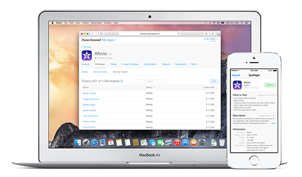 Apple opens up TestFlight beta testing to all iOS app developers