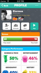 Trivia Crack - Profile