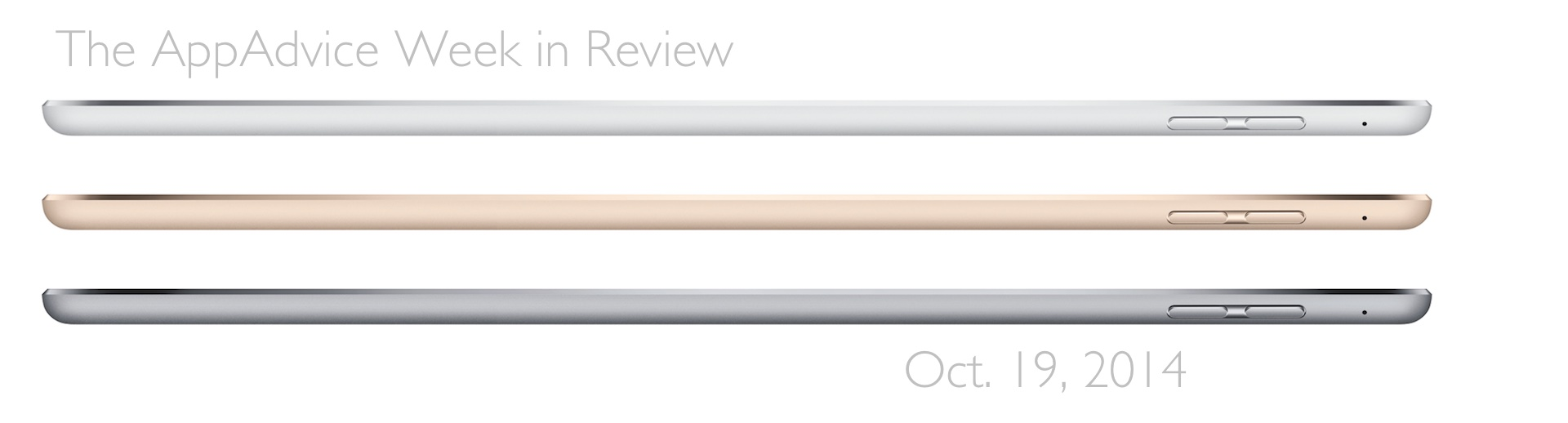 The AppAdvice week in review: A look back at Apple's iPad event