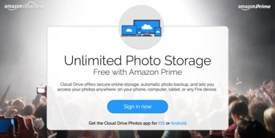 Amazon Prime Photos offers unlimited backups regardless of your device