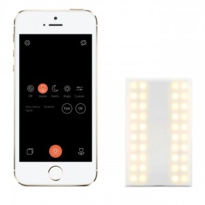 Apple is now stocking Nova, the Bluetooth connected camera flash for iPhone