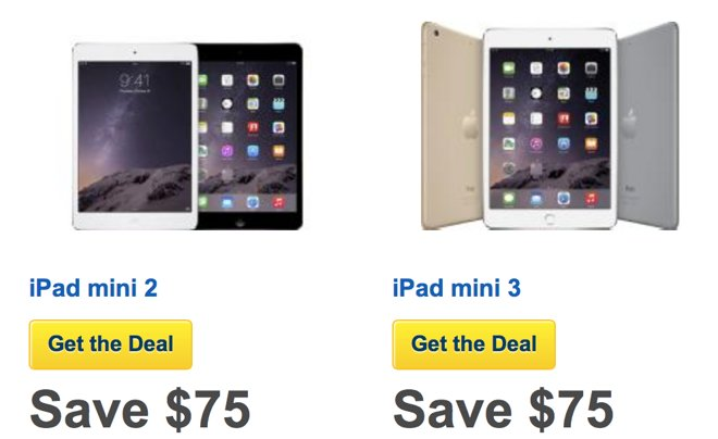 Best Buy is already offering Black Friday discounts on iPad mini purchases