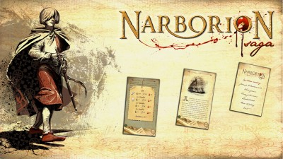 Get ready to unfold the Narborion Saga gamebook