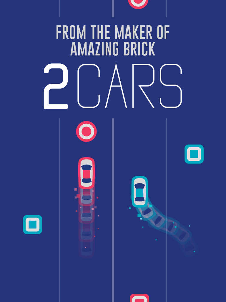 Amazing Brick and 2048 developer Ketchapp releases addictive arcade racer 2 Cars