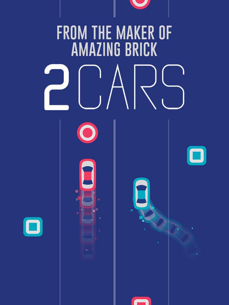 Amazing Brick and 2048 developer Ketchapp releases addictive arcade racer 2 Cars