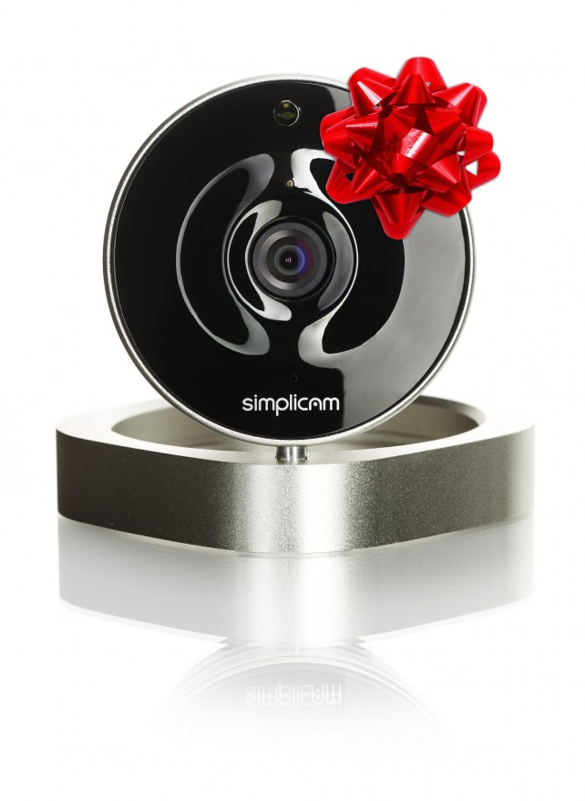 On Black Friday only, buy a simplicam home security camera for 30 percent off