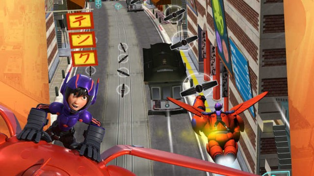 Disney lets you kick some bot in 2 new iOS games based on Marvel's 'Big Hero 6'
