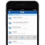 Box for iOS updated with Touch ID support, Today widget, favorites feature and more