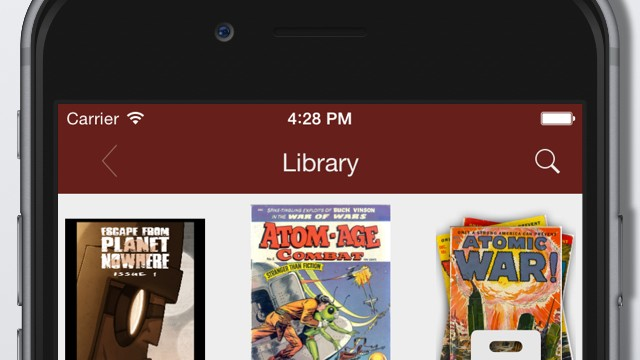 Zap! Comic Zeal 8.0 features iOS 8 support plus new options for importing comics