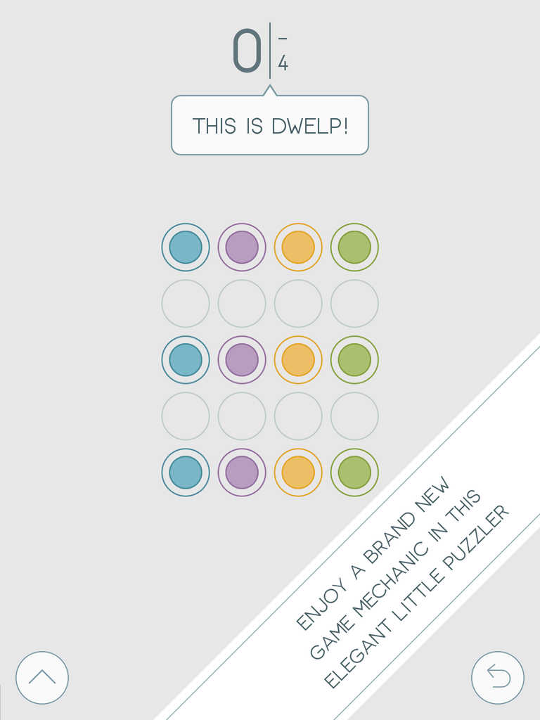 Dwelp is a new dot-connecting puzzle game unlike any other