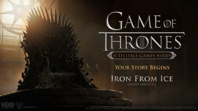 TellTale's Game of Thrones adventure game coming this Thursday, Dec. 4