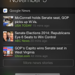 Google News & Weather for iOS updated with Today widget for top headlines