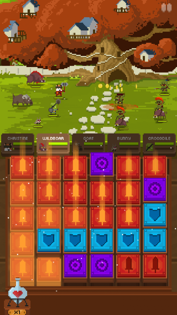 Gather and train your squad for war in Adventure Age, the new puzzle RPG from Everplay
