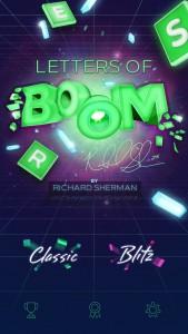 NFL 'Legion of Boom' cornerback Richard Sherman presents Letters of Boom