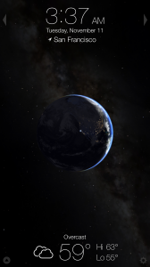 Living Earth now features universe simulation, Today widget and iPhone 6 support
