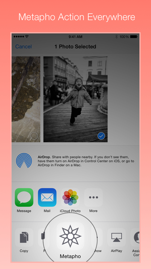Easily remove metadata from photos before sharing with Metapho for iOS 8