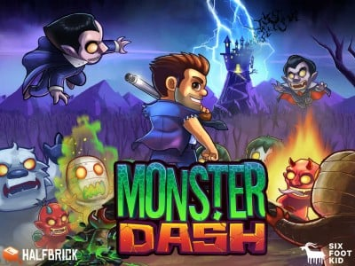 Halfbrick's Monster Dash runner game goes free as it relaunches with new content