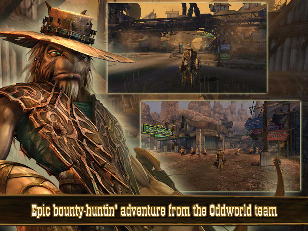Acclaimed bounty-hunting console game Oddworld: Stranger's Wrath arrives on iOS