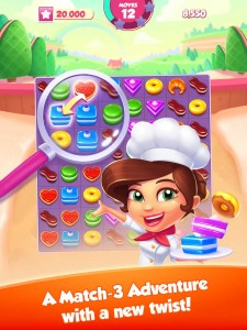 Gameloft bakes new Pastry Paradise match-three puzzle game for iOS