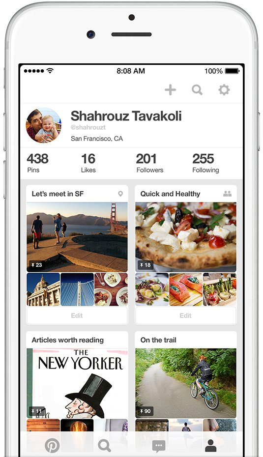 Pinterest 4.0 makes pinning 'Pinteresting' stuff on iPhone sleeker and faster than ever