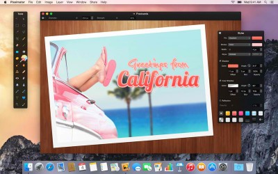Pixelmator for Mac updated with significant enhancements for OS X Yosemite