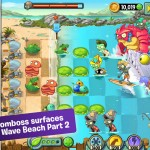 Part 2 of Plants vs. Zombies 2's Big Wave Beach world surfaces on iOS