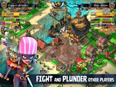 Rovio Stars' Plunder Pirates updated with new features and improvements