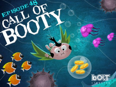 Answer the 'Call of Booty' in the brand new underwater episode of Pocket God