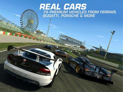 Electronic Arts' Real Racing 3 updated with new cars from Maserati and Ferrari