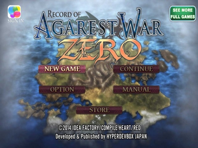 HyperDevbox releases Record of Agarest War Zero, holds Black Friday sale on iOS