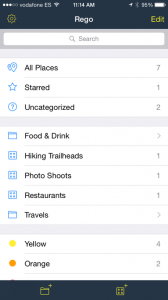 Rego 2.1 brings folders, smart collections and more to popular location-bookmarking app