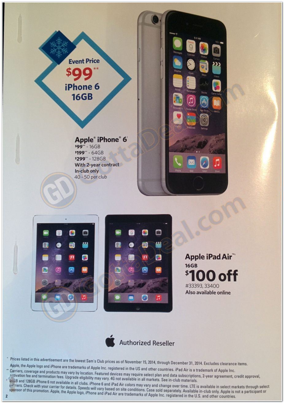 Sams Club Deals On Iphone