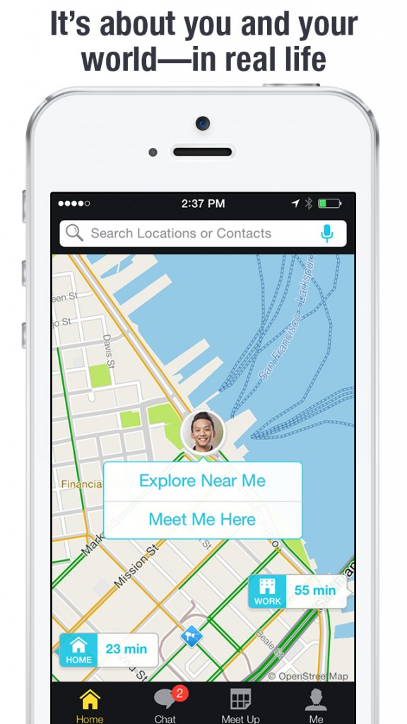 Chat, meet up and drive together with your friends using Scout by Telenav