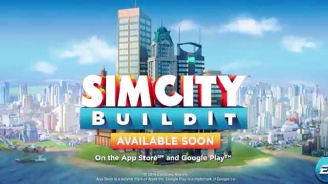 Electronic Arts shows off SimCity BuildIt mobile building game in new gameplay trailer