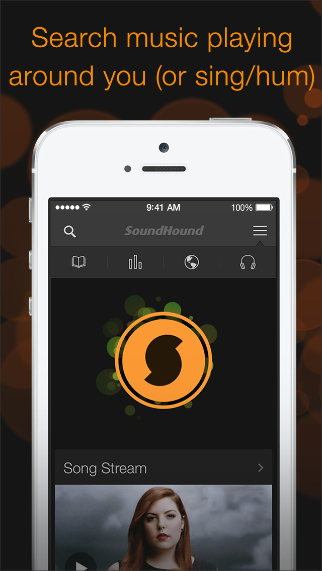 Sounds good, looks even better: SoundHound updated with new design on iPhone