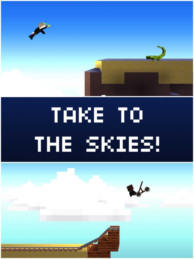 The Blockheads update lets you go on a jetpack joyride across the skies