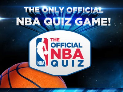Turn your basketball knowledge to slam dunks in Chillingo's The Official NBA Quiz for iOS