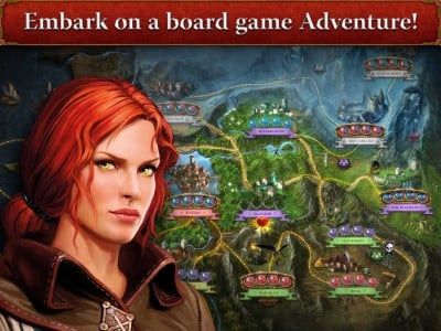 The Witcher Adventure Game for iPad out now on the App Store