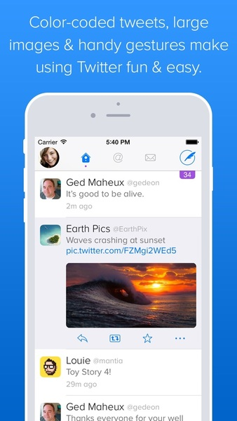 Twitterrific updated with large image previews, new font option and more