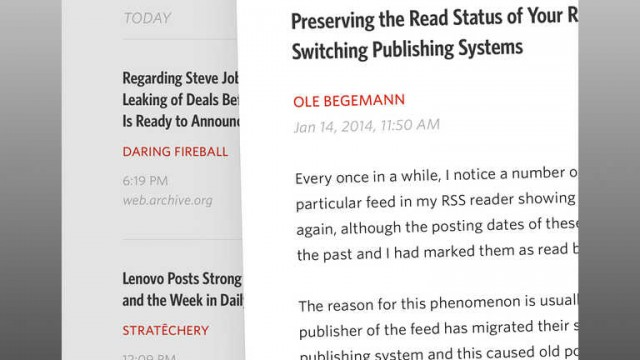 Unread for iPad relaunched as freemium app by Castro developer Supertop