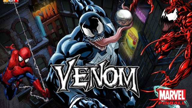Venom, Spider-Man's symbiotic supervillain, set to star in new pinball table from Zen Studios