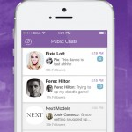 Viber messaging app updated with Public Chats for both participants and followers