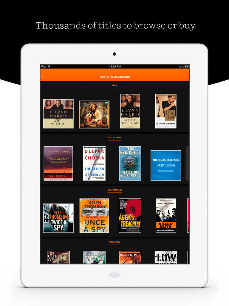 Volumes for iPad