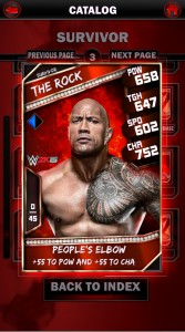 WWE Superstars John Cena and The Rock join the rumble in 2K's WWE SuperCard for iOS